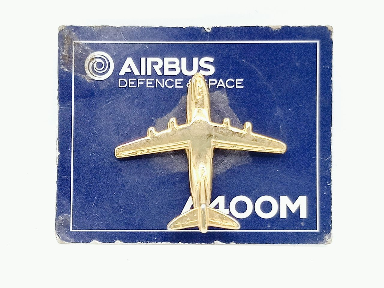 plane pin gold plated