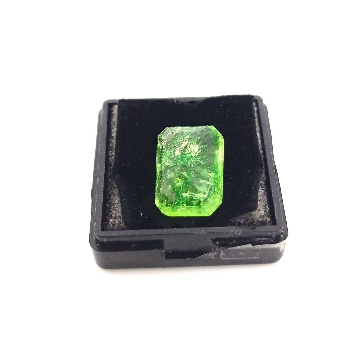Polished Emerald Stone