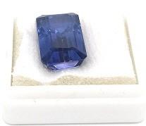 Polished sapphire stone