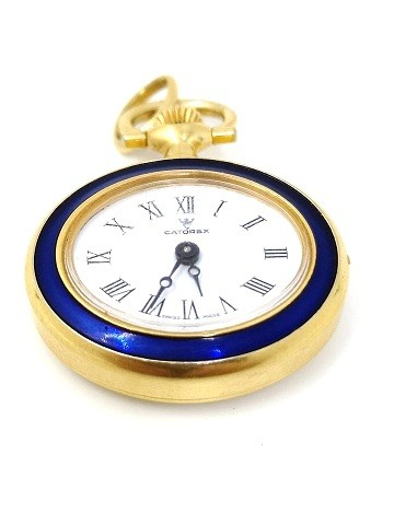 Catorex  Gold plated pocket watch