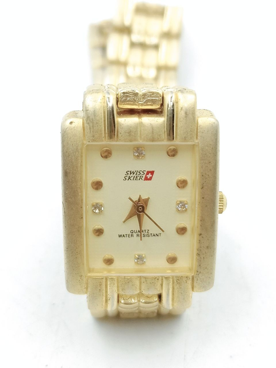 SWISS SKIER 3331 gold plated watch