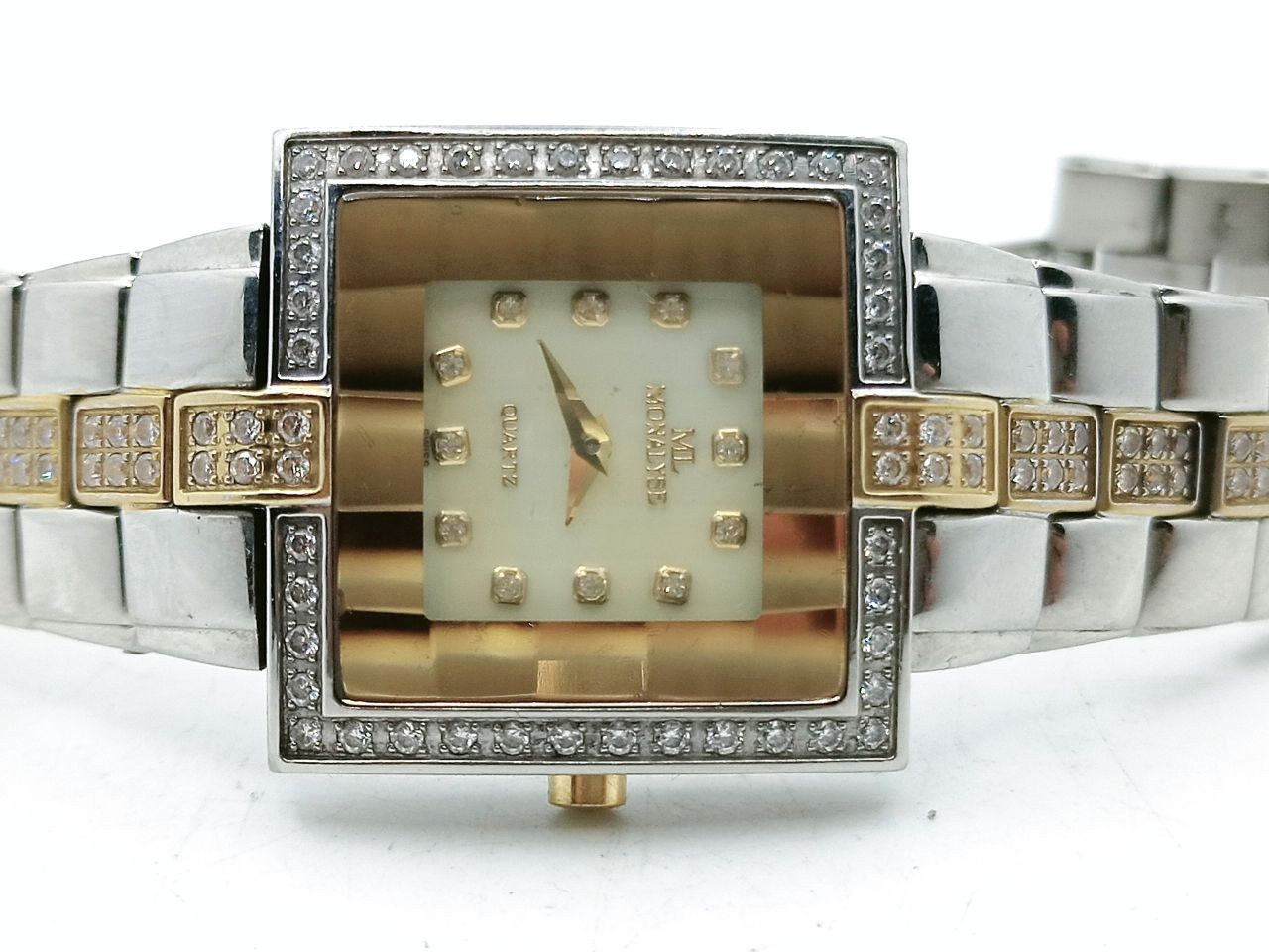 MONALYSE 22K gold plated watch