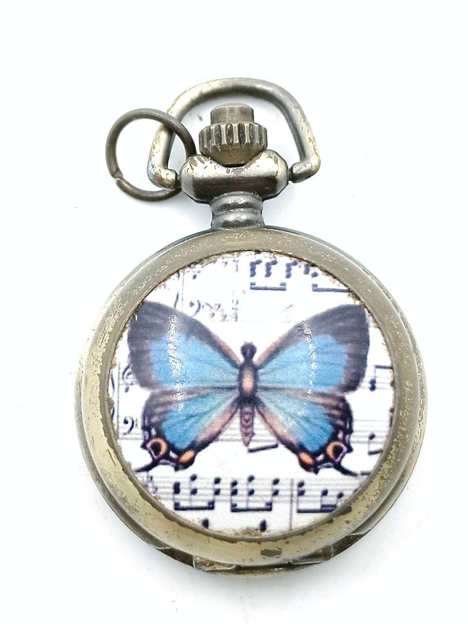 Enameled pocket watch
