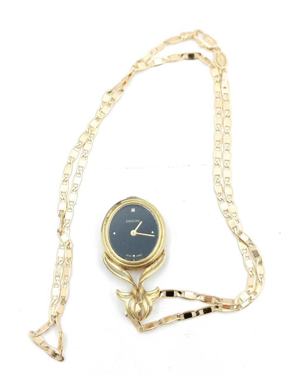 ODEON GOLD PLATED POCKET WATCH