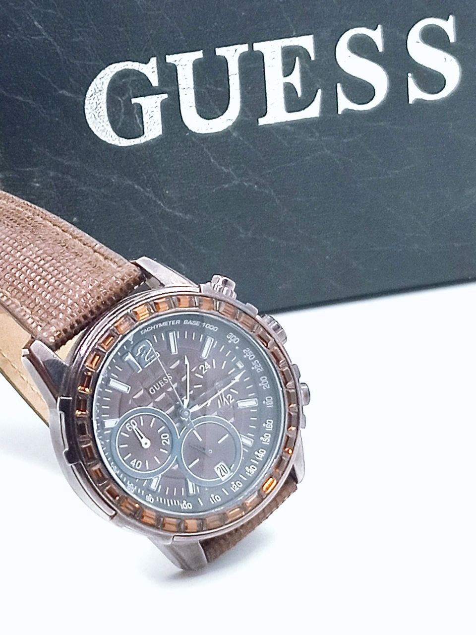 Guess W0017L4 Chronograph Brown Watch
