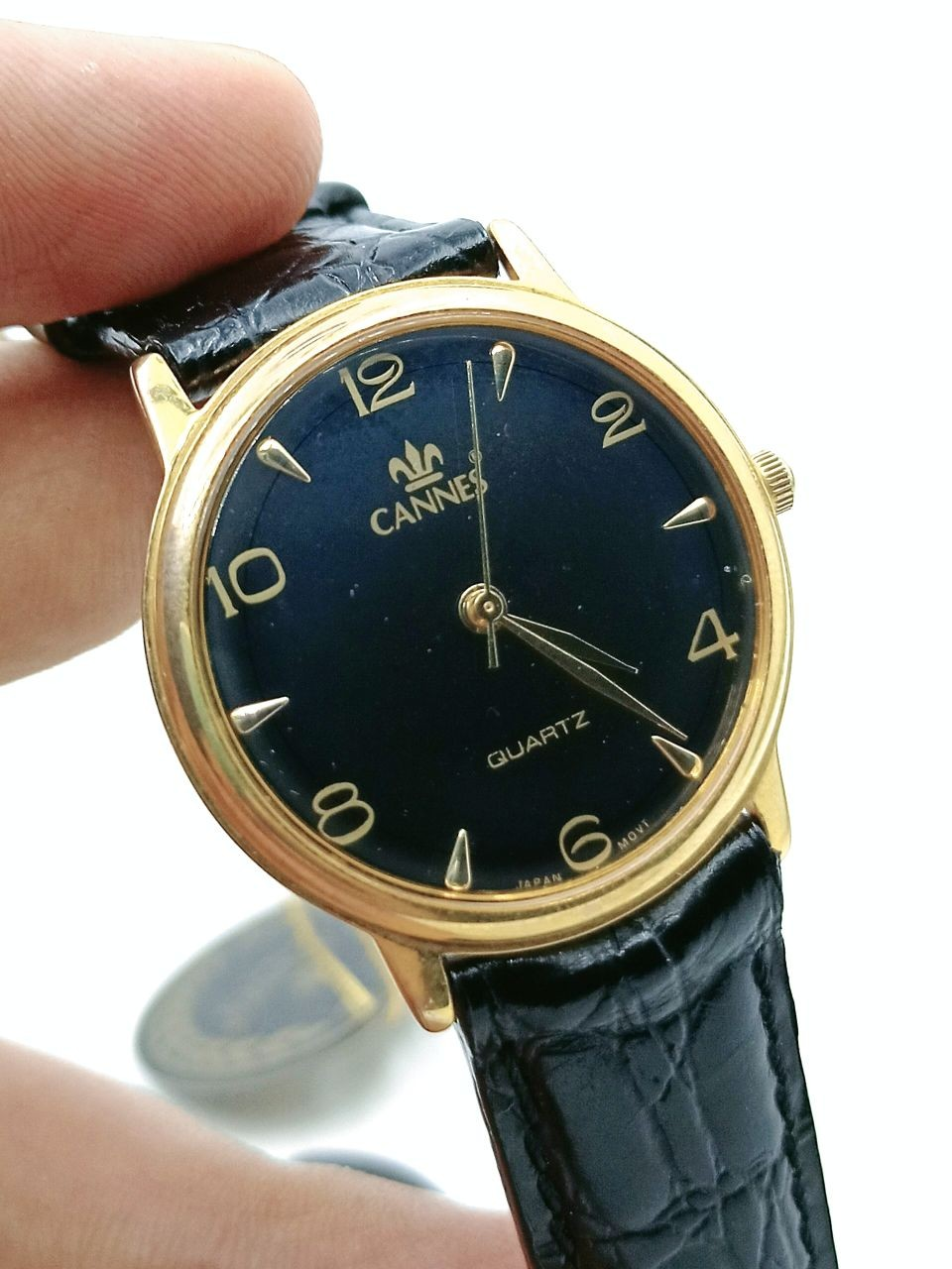 CANNES 18K GOLD PLATED WATCH