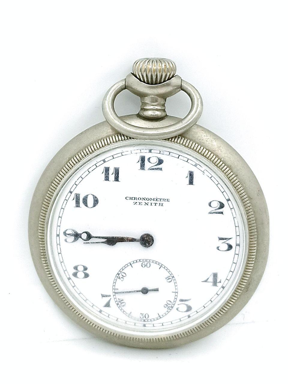 zenith chronometre pocket watch