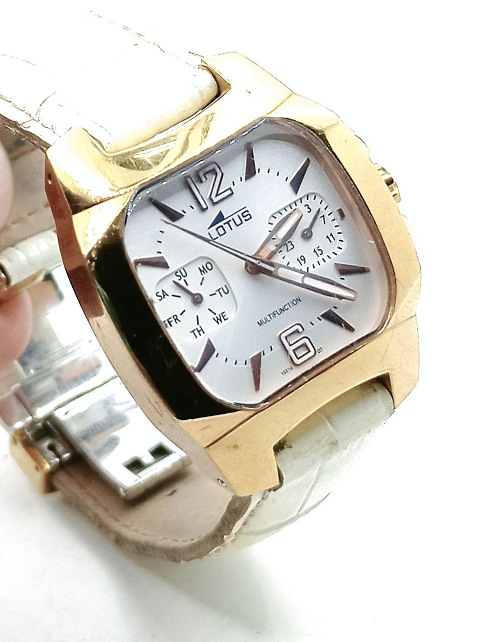 LOTUS GOLD PLATED WATCH