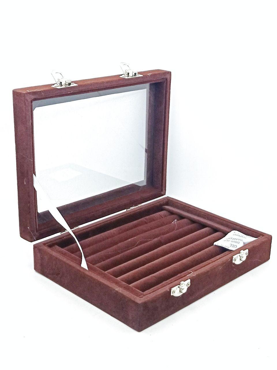 CHAMOIS RING BOX
