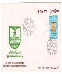 Golden Jubilee of Alexandria University