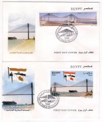 Opening the Suez Canal Bridge